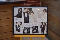 How to make a simple fashionable overseas style acrylic welcome board - Wedding Things - 結婚式 Wedding Welcome Board, Welcome Boards, Diy Wedding, Wedding Photos, Wedding Things, Marriage, Polaroid Film, Display, Day
