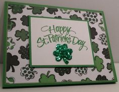 Happy St. Patrick's Day Card  Handmade St. by Inked2perfection