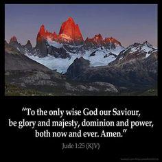 Jude 1:25 (KJV)