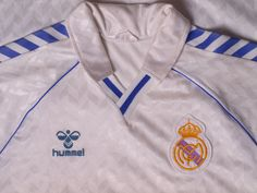 1986-89 Real Madrid Home Shirt S | Retro Real Madrid Shirts | Old Real Madrid Football Shirts | Classic Real Madrid Shirts | Vintage Football Shirts