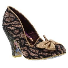 Irregular Choice Nick of Time Pink/Black/Gold