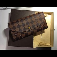 Louis Vuitton Carissa wallet Brand new Louis Vuitton wallet. Will come with EVERYTHING! 100% authentic! Make me offers. Louis Vuitton Accessories