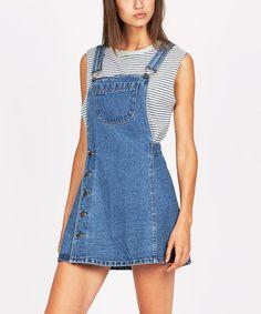 INDIGO ALINE PINAFORE | Dresses | Clothing | Shop Womens | General Pants Online