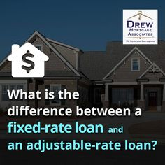 With a fixed-rate #mortgage, the interest rate stays the same during the life of the loan. With an adjustable-rate mortgage (#ARM), the interest changes periodically, in relation to an index. While the monthly payments that you make with a fixed-rate mortgage are fairly stable, payments on an ARM loan will typically change.