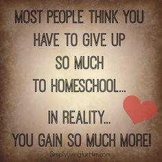 Homeschool Gains