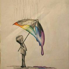 Não deixe que a chuva da intolerância e do preconceito apague a beleza das suas cores. #Pride #GayPride #Jampa #JoãoPessoa #PB #LGBT #LGBTPride #InstaPride #Instagay #Color #Travesti #Transexual #Dragqueen #Instadrag #Aligagay #Sitegay #SiteLGBT #Love #Gaylove