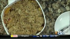 Peach Crisp Thursday, August 6, 2015