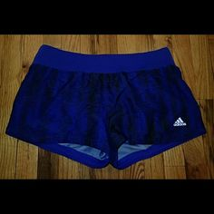 Adidas Climalite Blue/Black Shorts Size M - NWT ?? Brand new, never worn, no damage. Hidden pocket as shown. Inside underwear layer.   ?? Smoke-free, pet-free household.   ?? No trades/swaps!  ?? No holds!  ?? No low-balling!  ?? No PayPal!   ? Reasonable offers welcomed! Please use the offer button so I know you are serious about the item! I will not respond to price negotiations via comments.   ?? Happy poshing! ?? Adidas Shorts