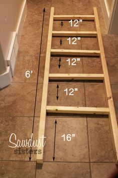 diy home decor DIY Blanket Ladder using inexpensive materials! Step by Step tutorial for beginners. This ladder can be used as a towel rack as well! Diy Home Decor Projects, Easy Home Decor, Diy Wood Projects, Wood Crafts, Diy Crafts, Decor Ideas, Decorating Ideas, Craft Ideas, Theme Ideas
