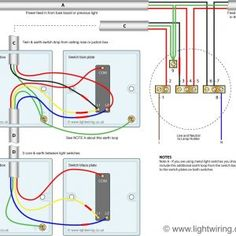 3 way switching wired to a loop-in-loop-out radial lighting circuit ...