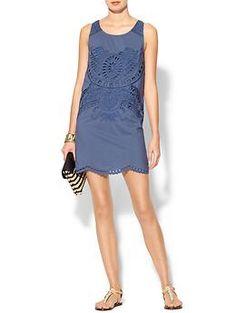Sabine Eyelet Mini Dress | Piperlime