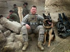 Andrew Wolf reunited with canine partner from Afghanistan tours. Andrew Wolf was paired with Iras in Afghanistan in 2010 and again in Wolf, formerly Iras handler, is adopting the German shepherd retired military working dog. Military Working Dogs, Military Dogs, Military Service, Army Dogs, Police Dogs, Dog Soldiers, Staff Sergeant, German Shepherd Dogs, German Shepherds