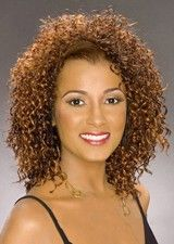 Shaggy Curly Remy Human Hair African American Wig
