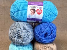 Red Heart Baby Hugs Yarn Giveaway!