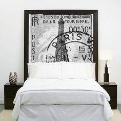 25 kreative Ideen für Bett Kopfteil selber machen