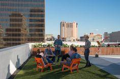 Design Workshop designs unconventional rooftop austin McJ rooftop landscape helipad cactus