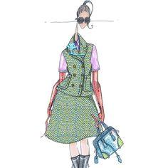 J.Larkowsky Illustration, Prada