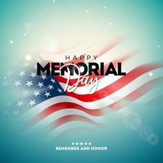 Memorial day of the usa design template with blured american flag on light background. national patriotic celebration illustration for banner, greeting card, invitation or holiday poster. Memorial Day Usa, Happy Memorial Day, America Independence Day, Happy Independence Day, Star Background, Lights Background, Pattern Background, Statue Of Liberty Drawing, Kobe Bryant Pictures