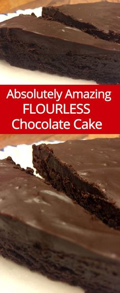 Flourless Chocolate Cake Recipe - Easy & Gluten-Free! | MelanieCooks.com