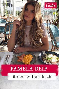Influencerin Pamela Reif bringt ihr erstes Kochbuch auf den Markt: Gesundes Essen, einfache Rezepte! #rezept #pamelareif #kochbuch #gesundessen Keto, Kochen, Easy Recipes, Hair And Beauty, Slim