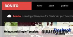 ThemeForest – Bonito Facebook Template