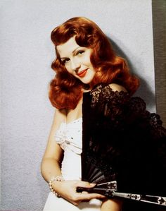 Rita Hayworth aka Margarita Carmen Cansino born in October the year of 1918 in Brooklyn. She was the daughter of Bolero dancer Eduardo Cansino, Sr and Volga Hayworth
