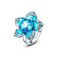 Kanak Flower Design Blue Crystal Swarovski Elements Rings... http://www.amazon.in/dp/B01N7VJTK6/ref=cm_sw_r_pi_dp_x_9o1Iyb1NQ90QM