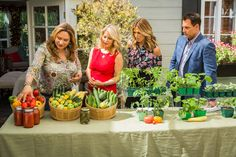 Want to plant a #VegetableGarden? @edenmakersblog shows you how! For more DIYs and recipes tune in to Home & Family weekdays at 10a/9c on Hallmark Channel!