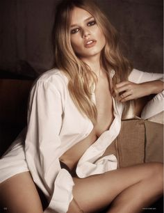 #AnnaEwers by #Luigi & #Iango for #VogueGermany March 2015