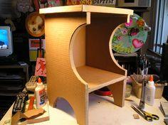Make Furniture With Cardboard!