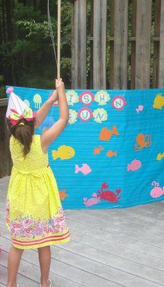 "under the sea birthday party | ... Party / Birthday ""Katie's Under the Sea 4th Birthday Party"" | Catch My"