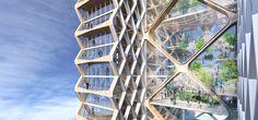 Galería de La torre más alta de madera: la propuesta conceptual de Perkins + Will para River Beach Tower - 2