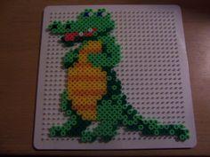 Crocodile hama beads by Ilhja - Randi Frederiksen