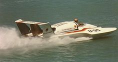 Ron Jones Hydroplane Design, U-95 was the first twin turbine engine boat to run competetively