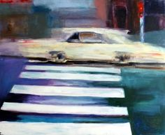 "Saatchi Art Artist Mieke Jonker; Painting, ""About a road I"" #art"