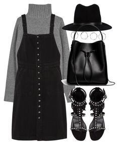 """""""Untitled #3899"""" by london-wanderlust ❤ liked on Polyvore featuring Joseph, MiH Jeans, Yves Saint Laurent, rag & bone, 3.1 Phillip Lim and Boohoo"""