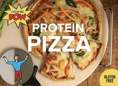 GLUTEN FREE PROTEIN PIZZA