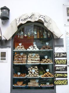 """""""pasticceria"""" or """"bakery"""" in Amalfi, Italy. a must stop!! i say, calories don't exist nor count when you are on vacation in Italy!! my advice is to save the diet for """"Weight Watchers"""" upon your return home. YOLO! :)"""