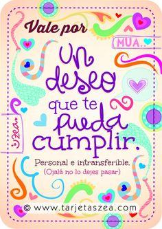deseo © ZEA www.tarjetaszea.com