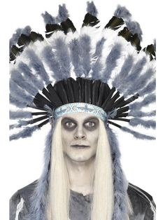 Smiffy's Ghost Town Indian Style Headdress