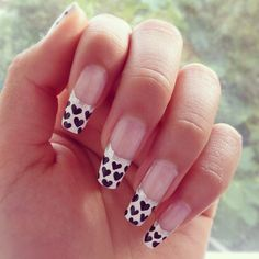 <3.Hearts Manicure.<3       t