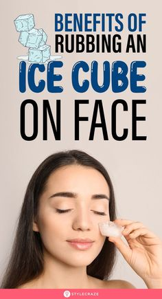 Dark Circles Treatment, Face Treatment, Skin Treatments, Ice On Face, Ice Cubes For Face, Clear Skin Face, Face Skin Care, Beauty Tips For Glowing Skin, Beauty Skin