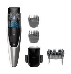 Philips Norelco 7200 is a cordless and corded beard trimmer. The beard trimmer Philips Norelco 7200 comes with unque vacuum system and lift and trim tech. Best Trimmer, Trimmer For Men, Beard Grooming Kits, Men's Grooming, Stubble Beard Trimmer, Best Shavers, Trimming Your Beard, Trimming Hair, Barbers