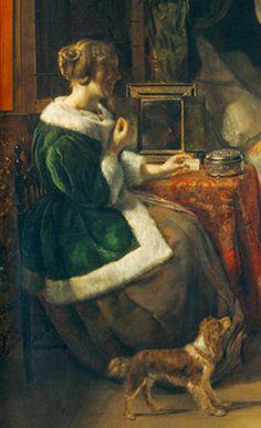 Gabriël Metsu, The Intruder (c1661)  National Gallery. Washington.