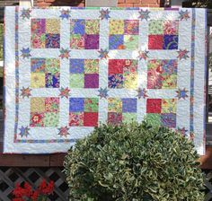Floating Stars ... by HSDesigns | Quilting Pattern - Looking for your next project? You're going to love Floating Stars Quilt Pattern ~ PDF by designer HSDesigns. - via @Craftsy