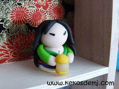 Mulan Fimo Princess Disney