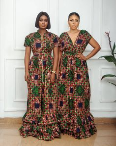 African Maxi Dresses, Latest African Fashion Dresses, African Dresses For Women, African Print Fashion, African Wear, African Attire, African Clothes, African Style, Classy Dress