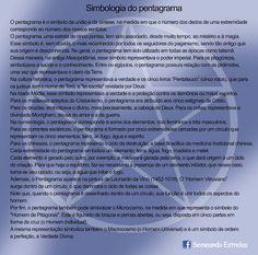 Prosa e Poesia Catia Garcia: Simbologia do Pentagrama