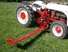Ford side-mount sickle bar mower