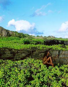 Fatou sitting  - Fine Art, Mountains, Nudes, Nature, Photography, Travel, Magic, Photos, Black Women
